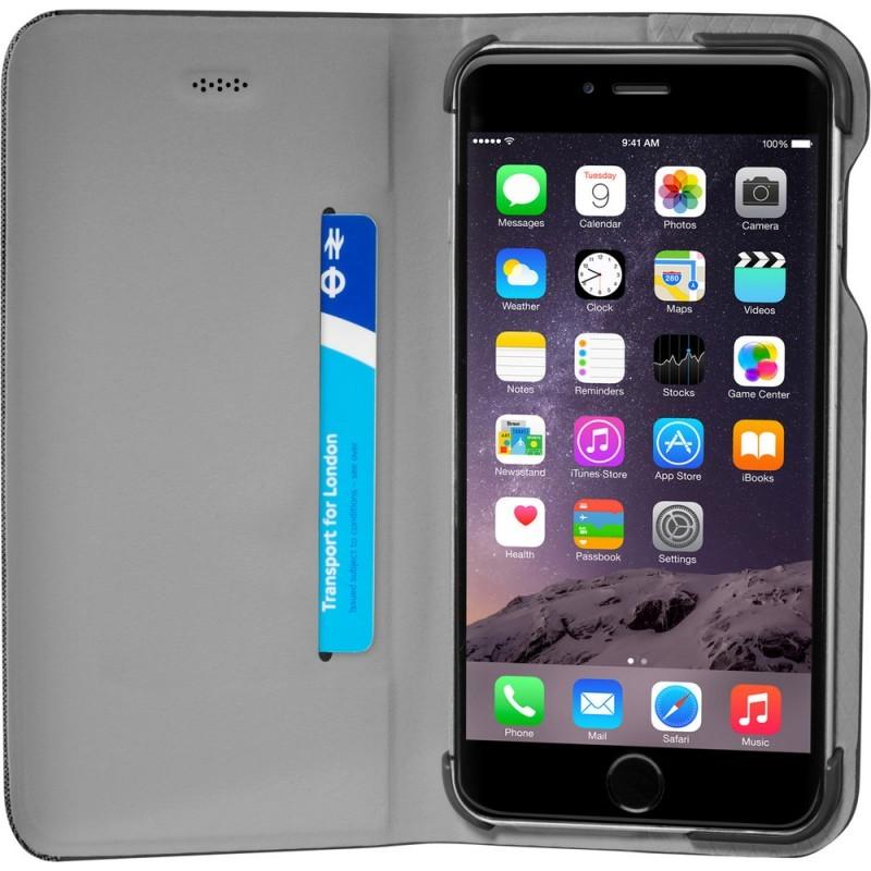 LAUT K-Folio iPhone 6 Plus / 6S Plus Black