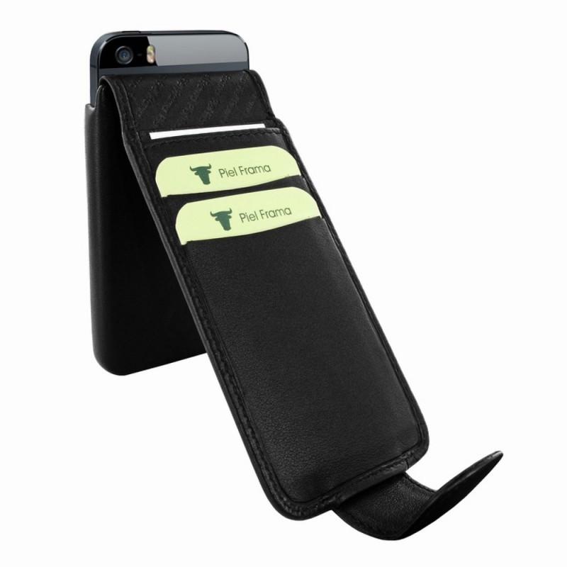Piel Frama iMagnum 2 iPhone 5(S)/SE schwarz