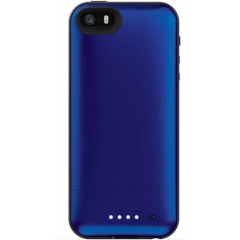 Mophie juice pack air iPhone 5(S)/SE blau