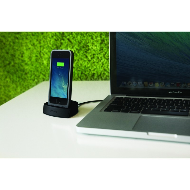 Mophie juice pack dock iPhone 5(S)/SE schwarz