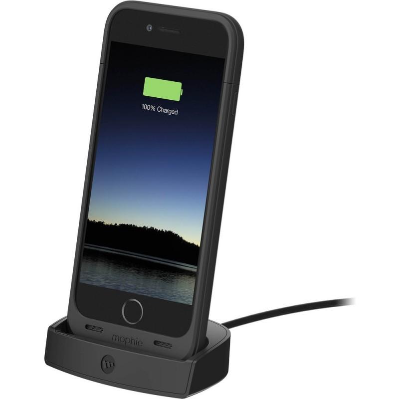 Mophie juice pack dock iPhone 6(S) schwarz
