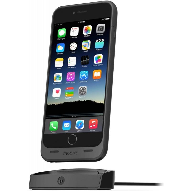 Mophie juice pack dock iPhone 6(S) Plus schwarz