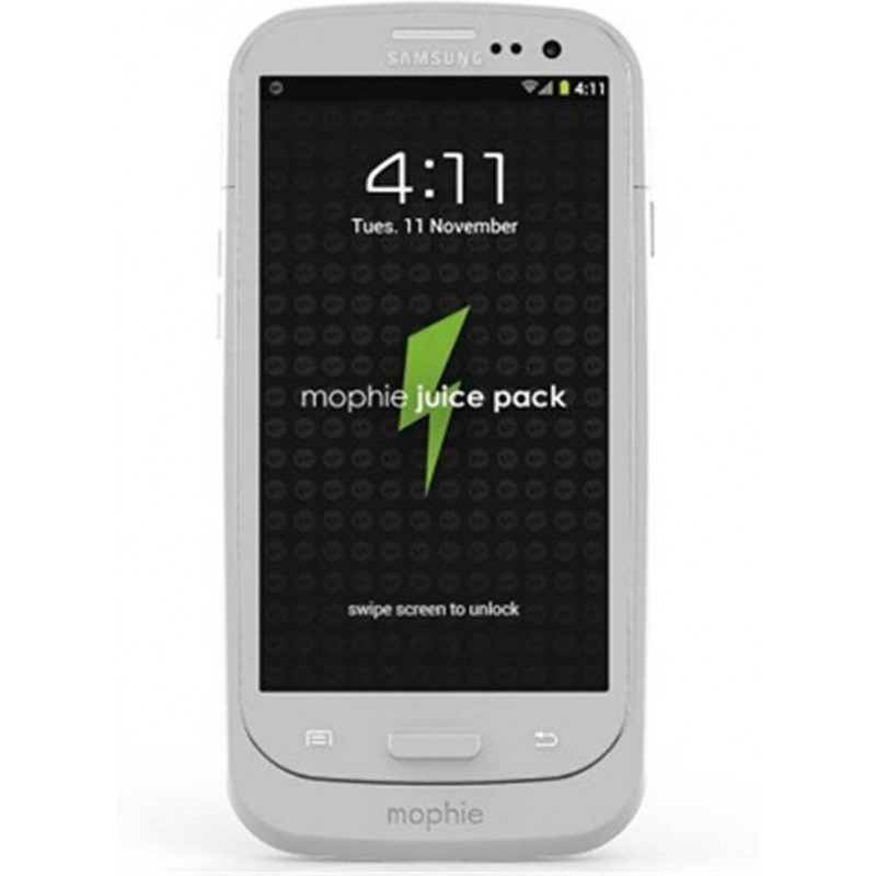 Mophie juice pack Galaxy S3 2300 mAh weiß