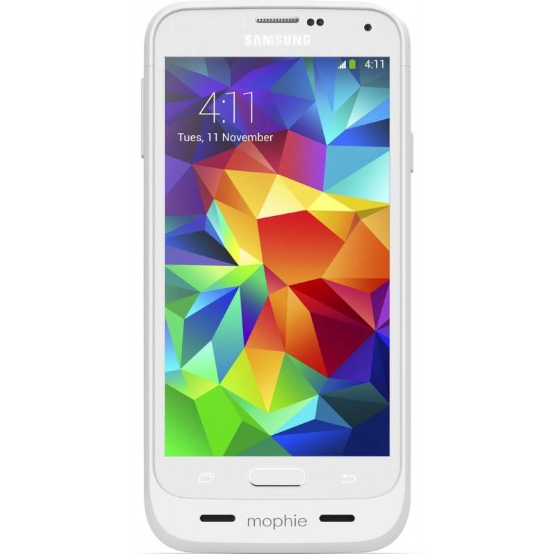 Mophie juice pack Galaxy S5 3000 mAh weiß