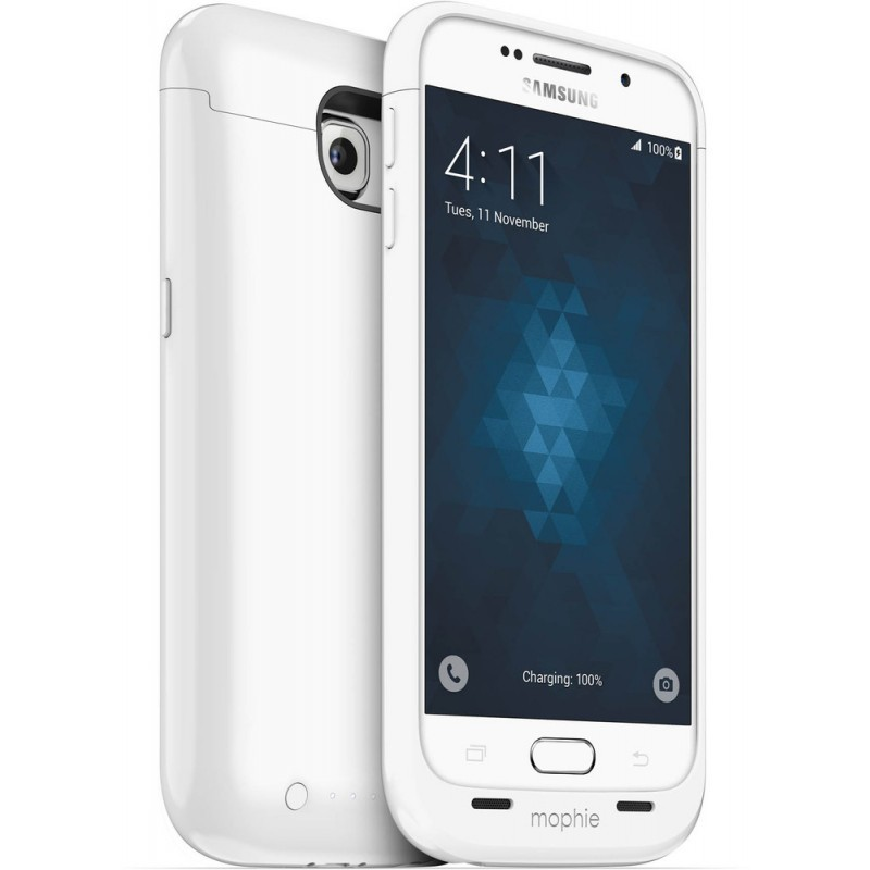 Mophie juice pack Galaxy S6 3300 mAh weiß