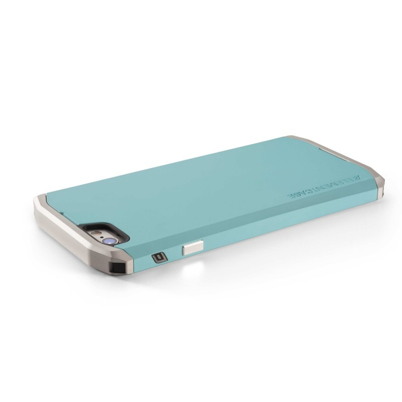 Element case Solace iPhone 6(S) Türkis/Silber