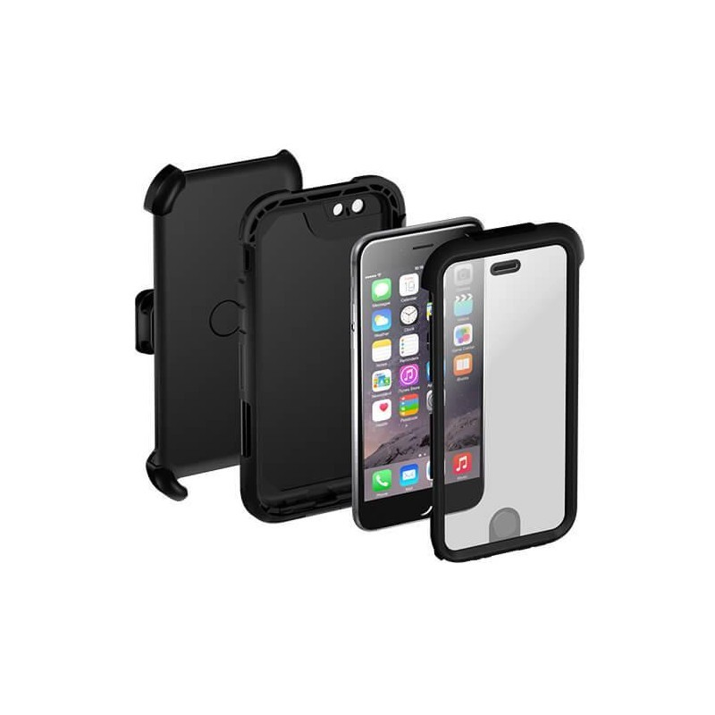griffin survivor summit case iphone 7 schwarz. Black Bedroom Furniture Sets. Home Design Ideas