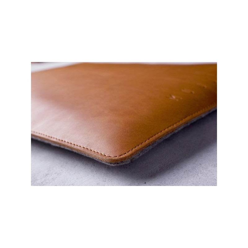 "Mujjo Folio Sleeve MacBook Air/Pro/Pro Retina 13"" braun"
