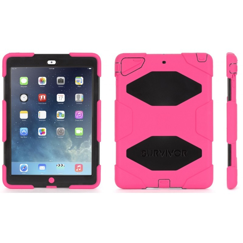 Griffin Survivor All-Terrain iPad Air Pink Black