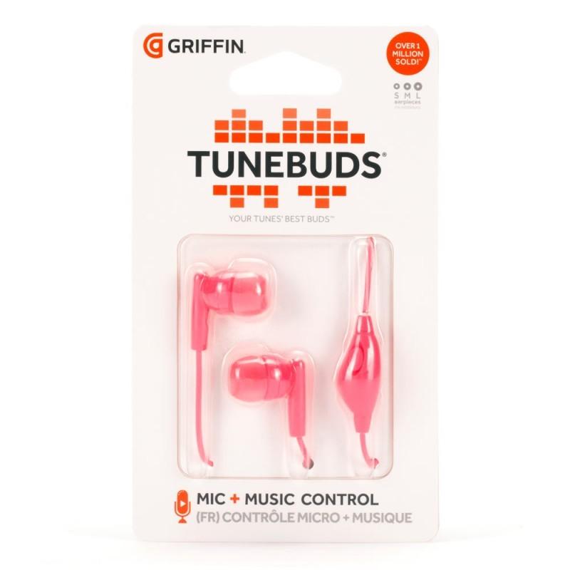 Griffin TuneBuds In-Ear Hoofdtelefoon Roze