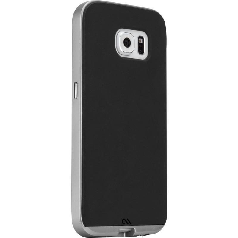 Case-Mate Slim Tough Case Galaxy S6 Black / Silver