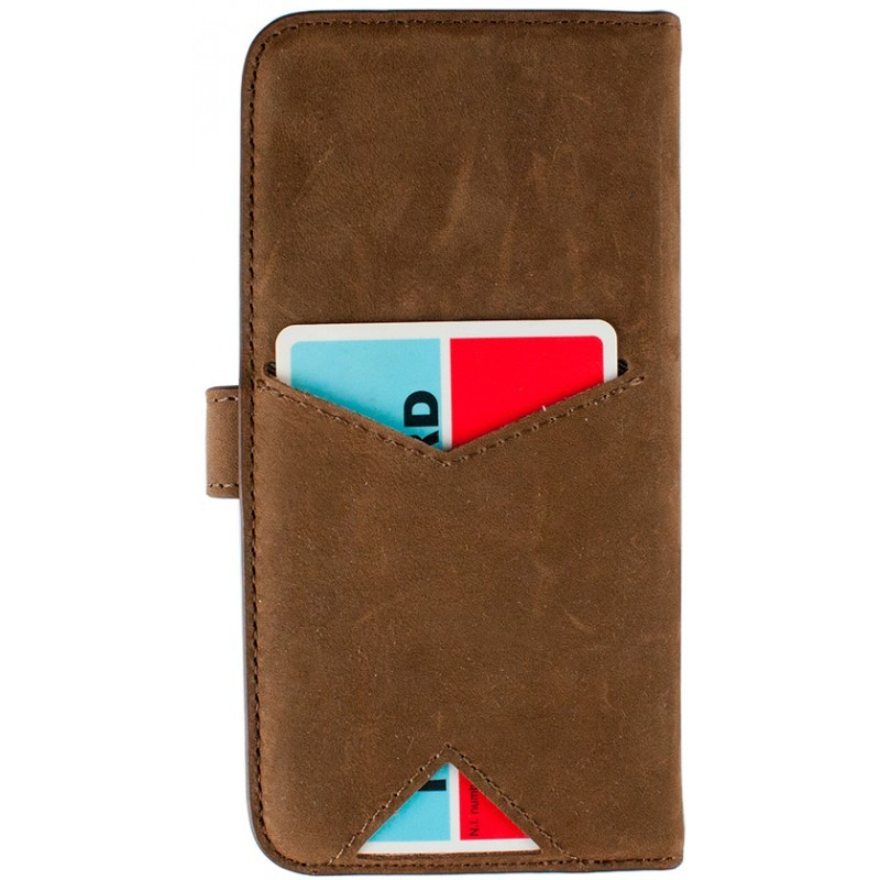 iMoshion Moyland Wallet Case iPhone 6 / 6S Brown