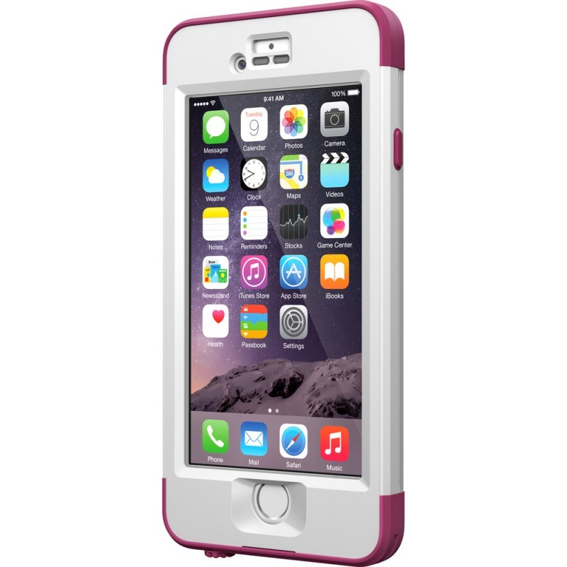 LifeProof nüüd iPhone 6 wieß/pink