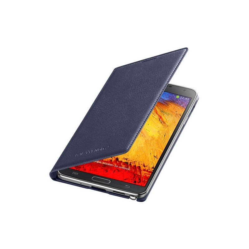 Samsung Flip Wallet Galaxy Note 3 blau