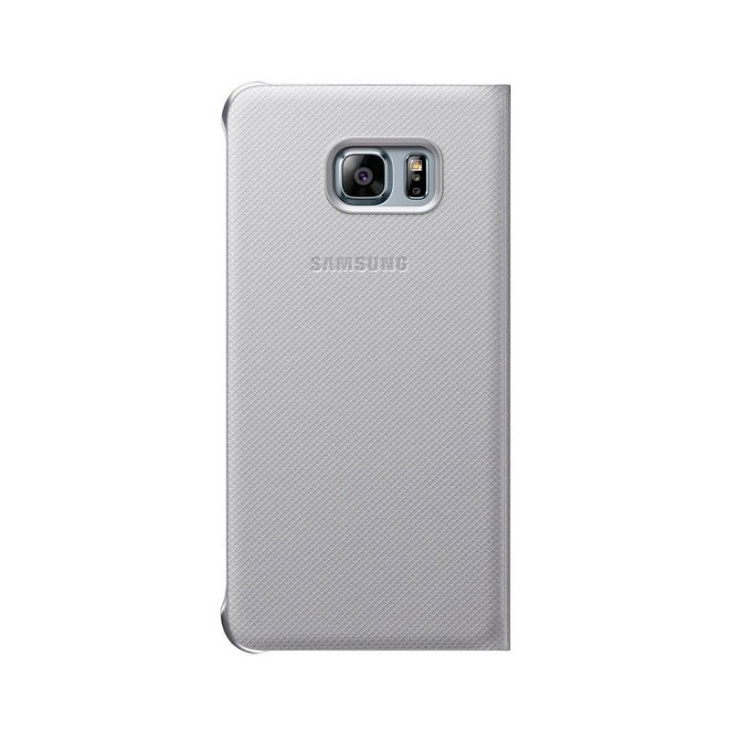 Samsung Flip Wallet Galaxy S6 Edge Plus silber