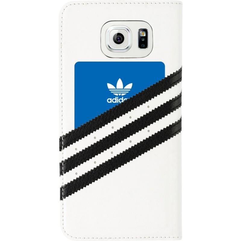 Adidas Basics Booklet Galaxy S6 White / Black