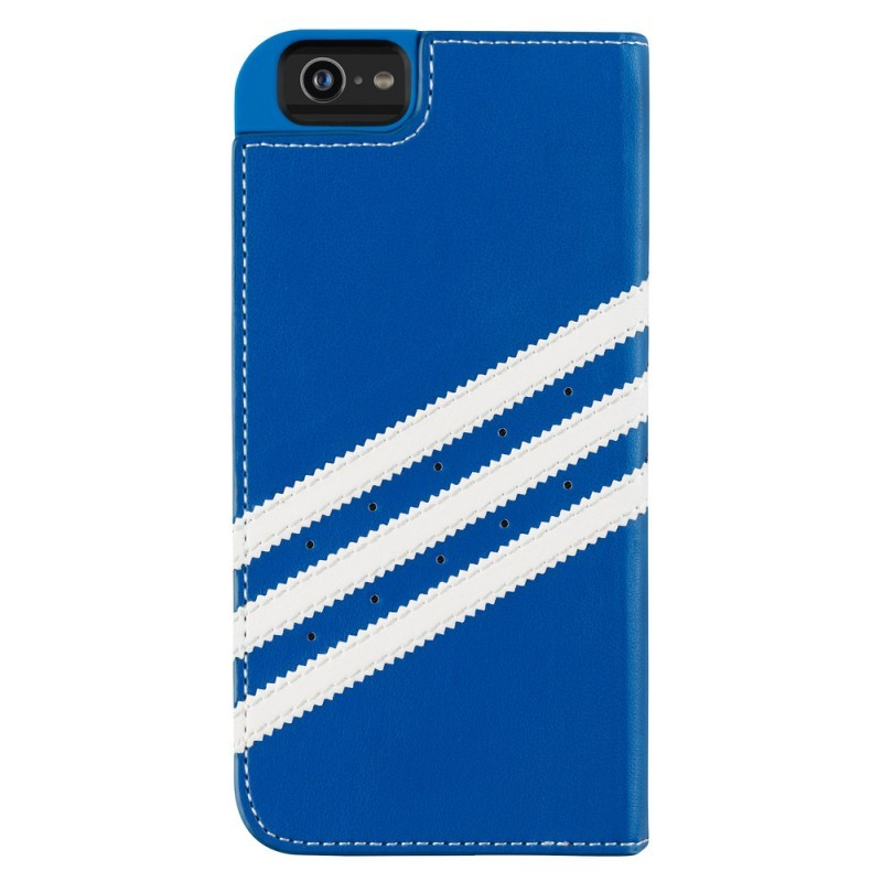 Adidas Basics Booklet iPhone 6 / 6S Bluebird / White