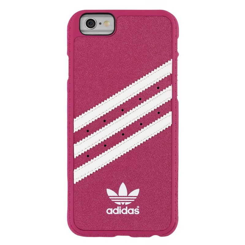 Adidas Vintage Moulded Case iPhone 6 / 6S Pink / Weiß