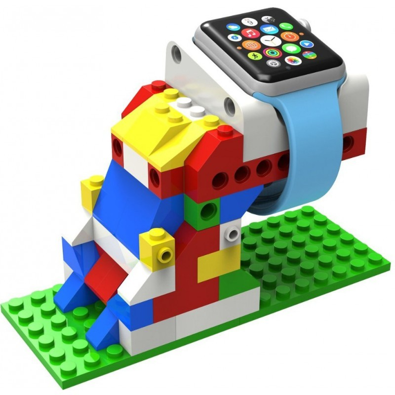 Blocks Charging Dock Stand for Apple Watch