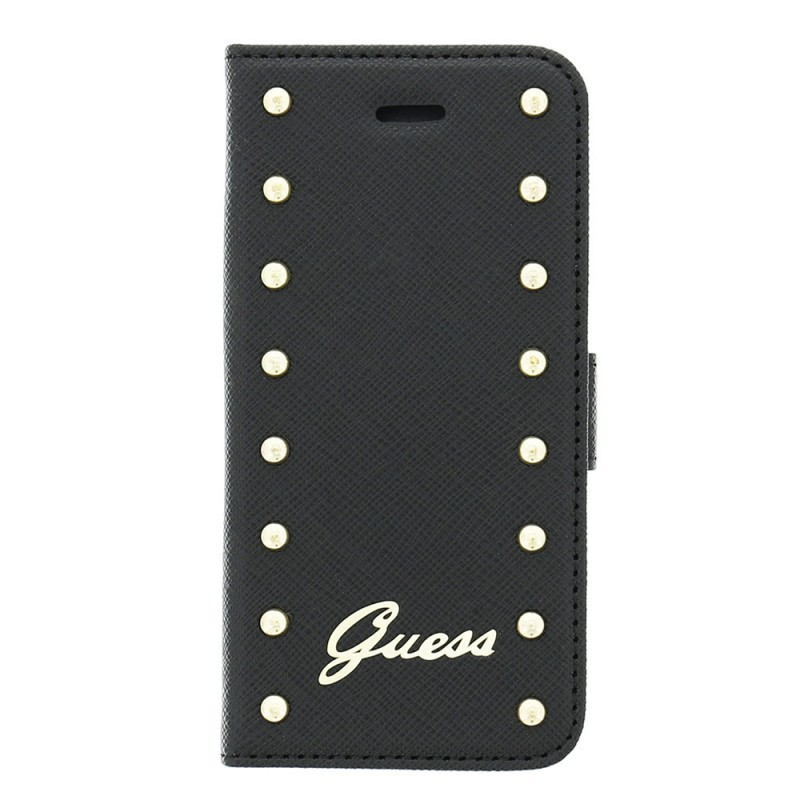 Guess Studded iPhone 5 / 5S Folio Case Black