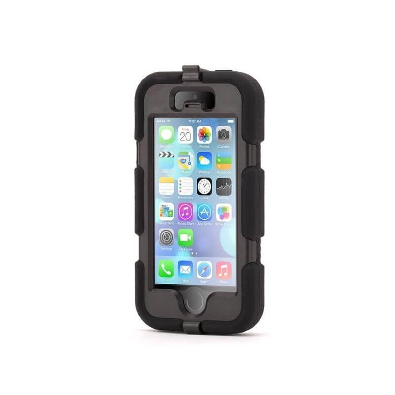 Griffin Survivor Hardcase iPhone 5(S)/SE schwarz