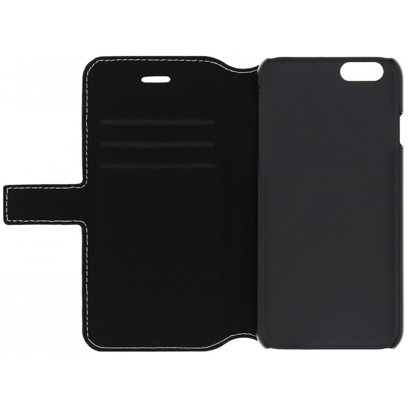 Denim iPhone 6 / 6S Folio Case Jeans Black