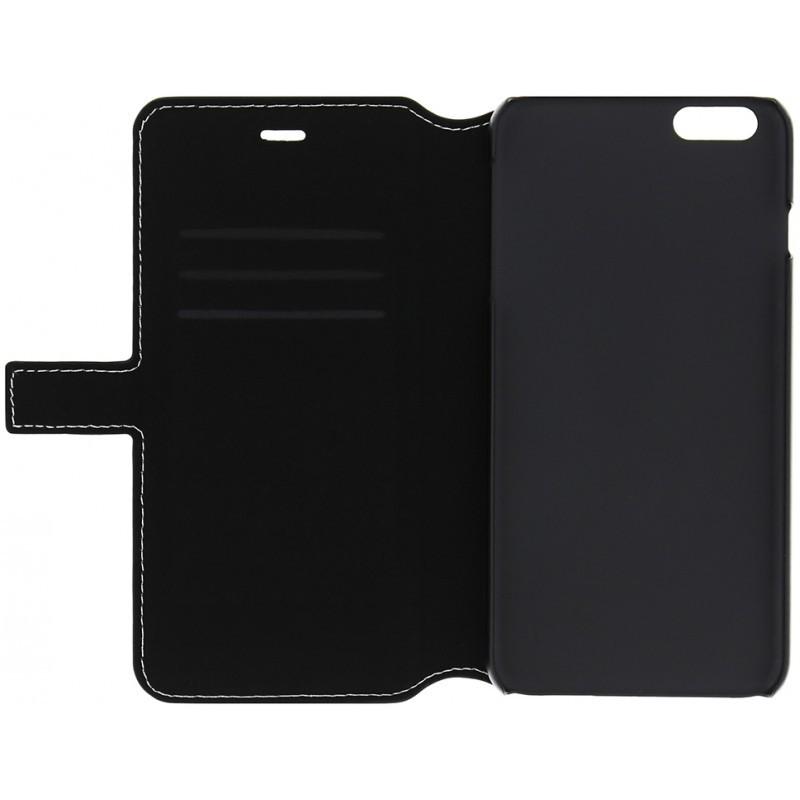 Denim iPhone 6 Plus / 6S Plus Folio Case Jeans Black