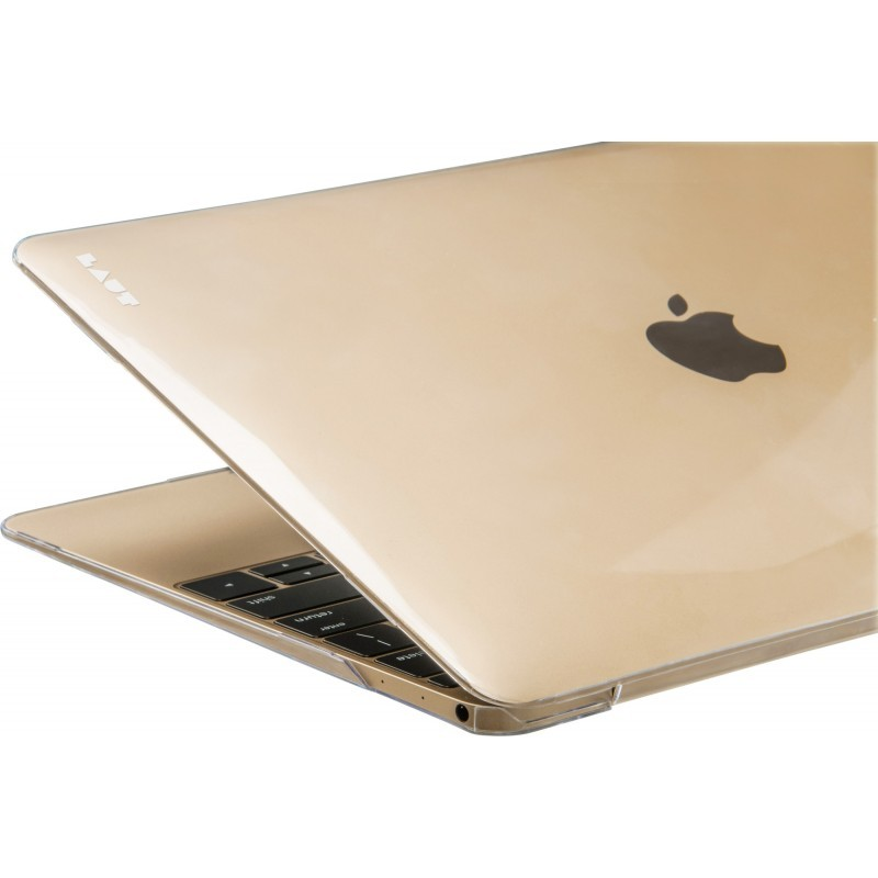 LAUT Slim Crystal-X Macbook 12 inch gold