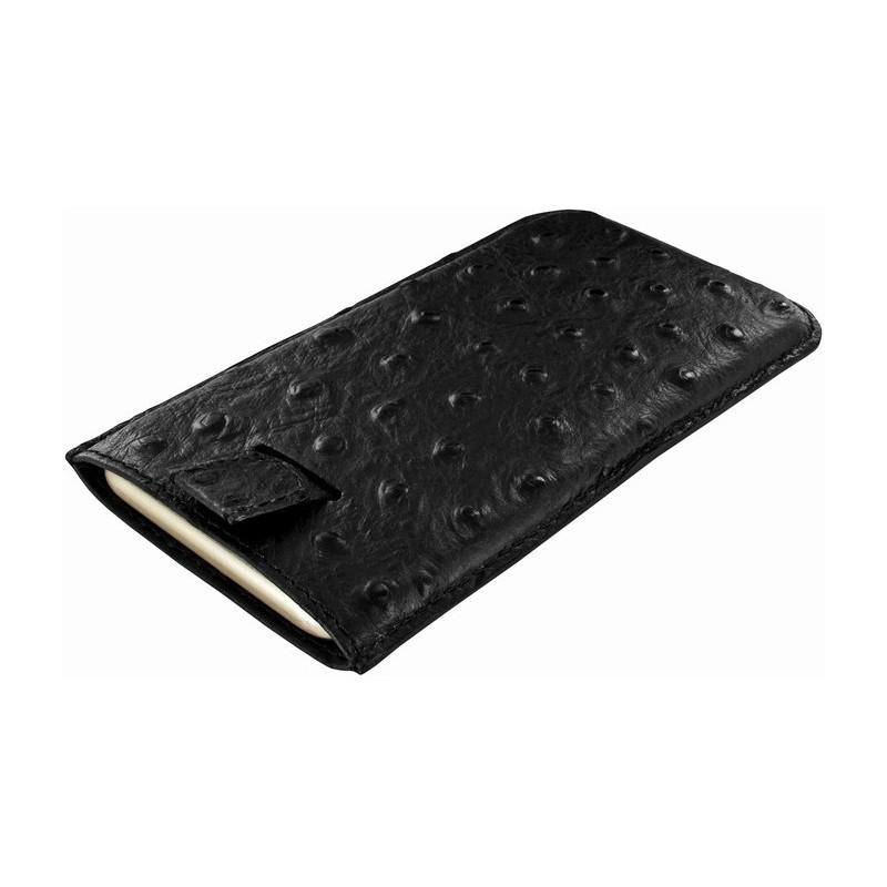 Piel Frama Pull Sleeve iPhone 6(S) / 7 Ostrich schwarz