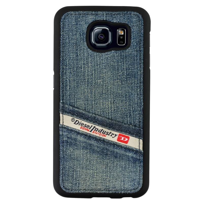 Diesel Kant Denim Moulded Case Galaxy S6 blau