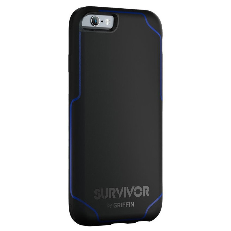 Griffin Survivor Journey iPhone 6 / 6S schwarz/blau
