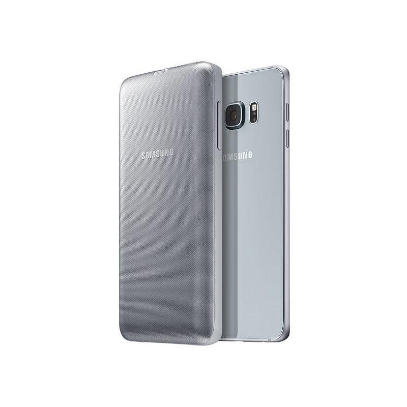 Samsung Powerhülle Galaxy S6 Edge Plus silber
