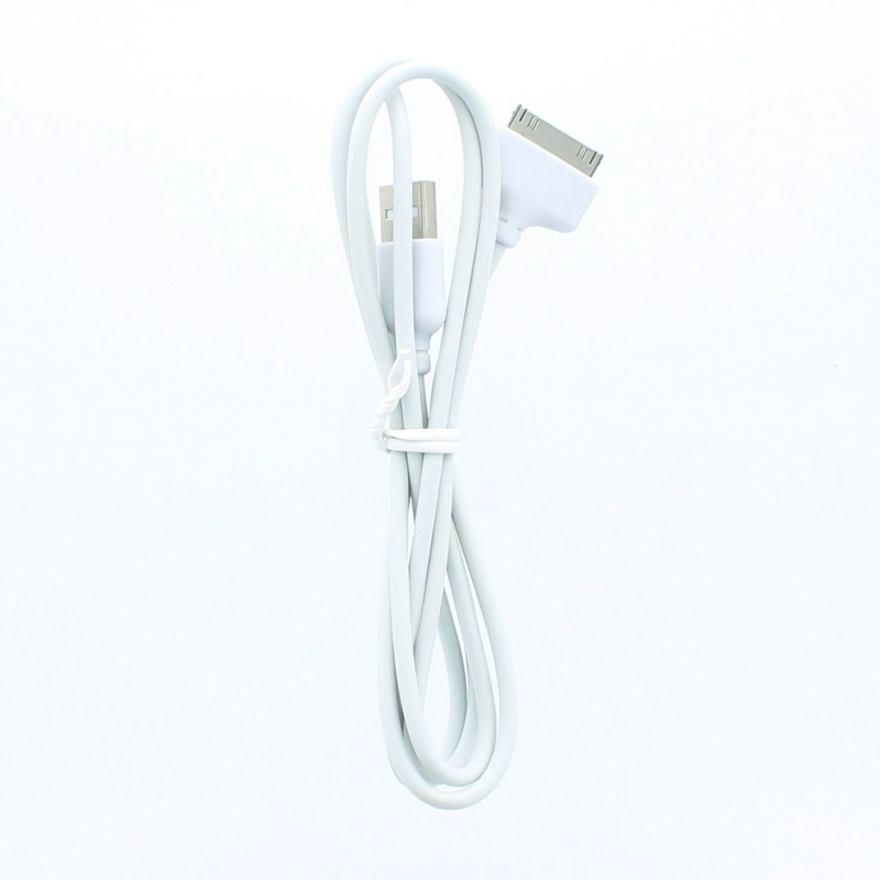 LocknCharge 30-pin dock connector naar USB kabel voor iPod / iPhone / iPad