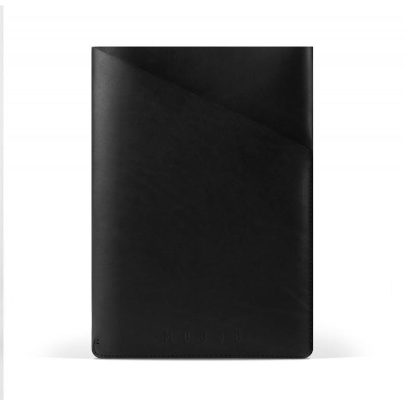 "Mujjo Slim Fit Leder Hülle iPad Air 1 / 2 / Pro 9.7"" schwarz"