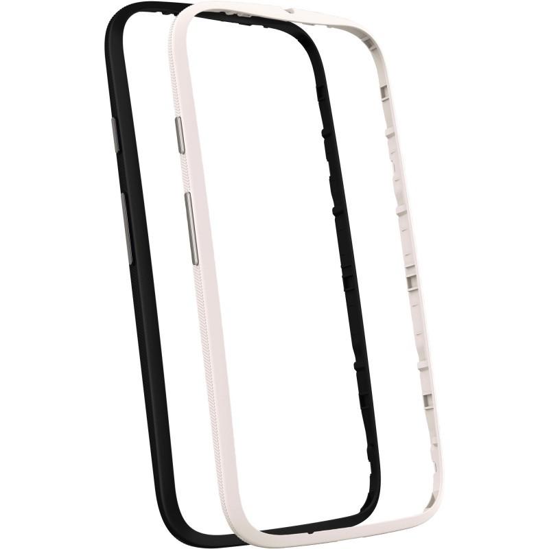 Motorola Bumper Moto E 2nd Gen schwarz/weiß