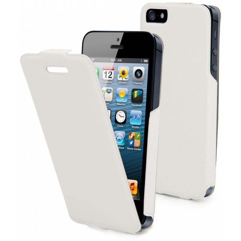 Muvit iFlip flip case iPhone 5(S)/SE weiß