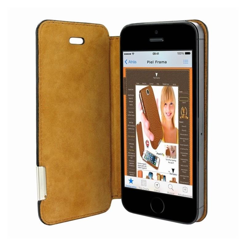 Piel Frama FramaSlim iPhone 5(S)/SE schwarz