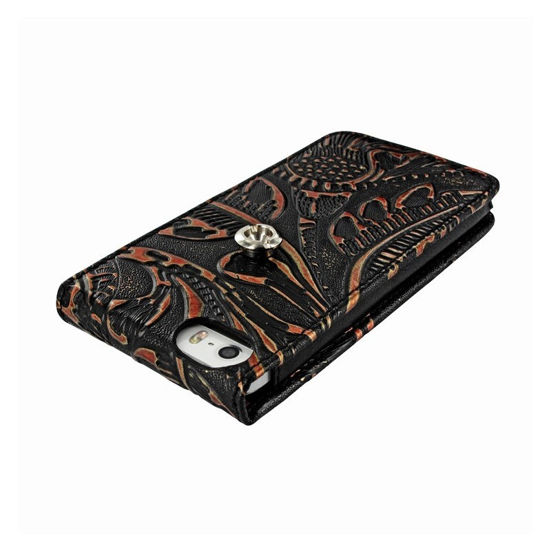 Piel Frama Magnetic iPhone 5(S)/SE Nspire zwart