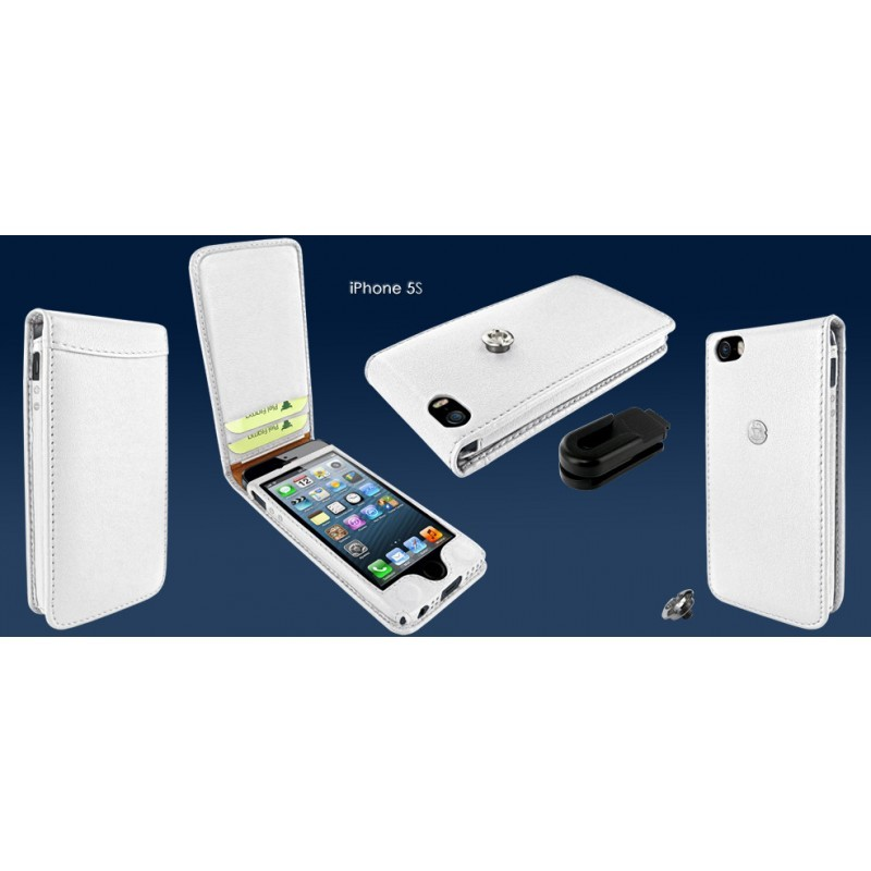 Piel Frama Magnetic iPhone 5 / 5S Weiß