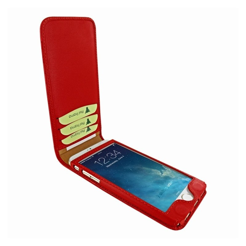 Piel Frama Magnetic iPhone 6(S) Crocodile rot