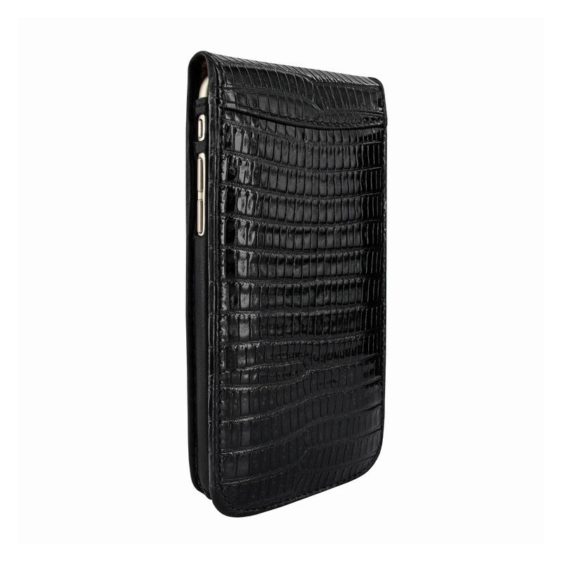 Piel Frama Magnetic iPhone 6(S) Lizard schwarz
