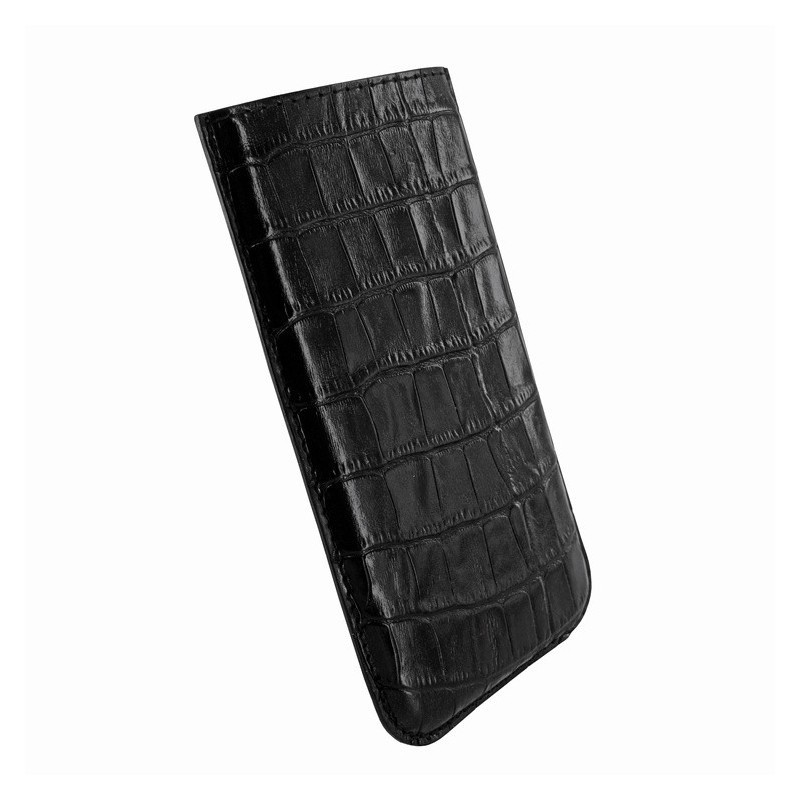 Piel Frama Pull Sleeve iPhone 6(S) / 7 Crocodile schwarz