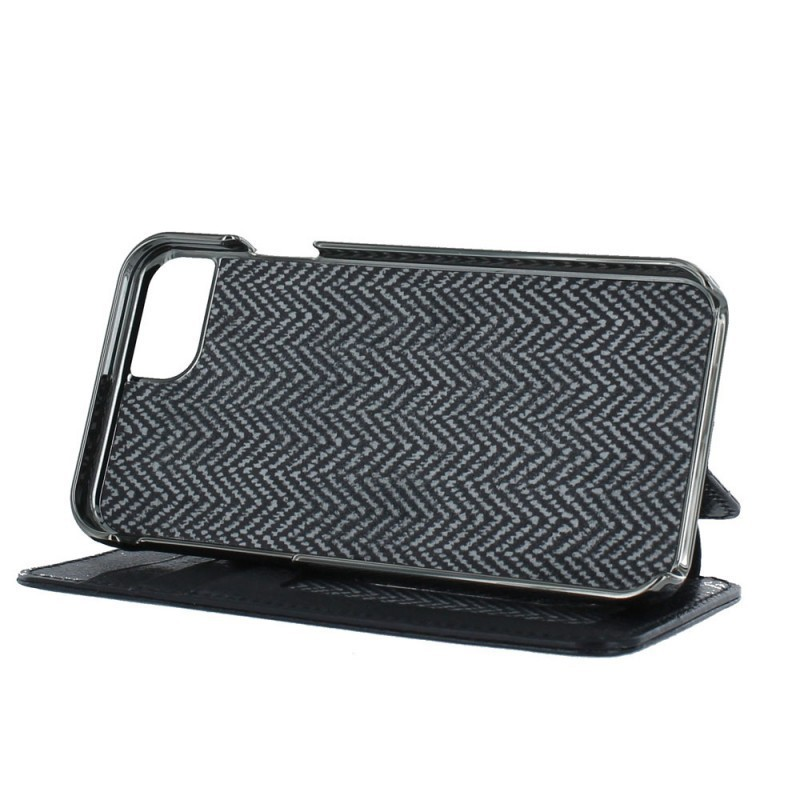 Sena Walletbook Pouch Leder iPhone 6(S) schwarz
