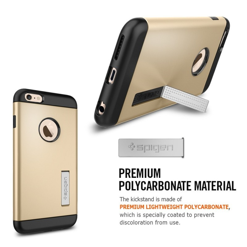 Spigen Slim Armor iPhone 6(S) Plus goud