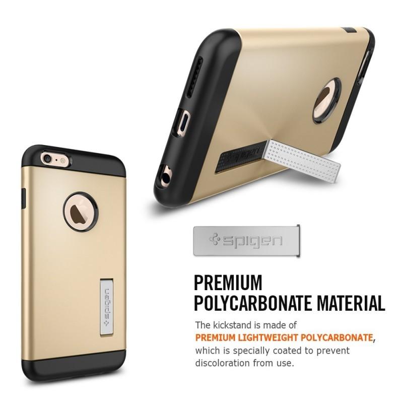 Spigen Slim Armor iPhone 6(S) Plus Metal Slate