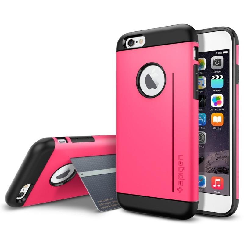 Spigen Slim Armor S iPhone 6(S) roze