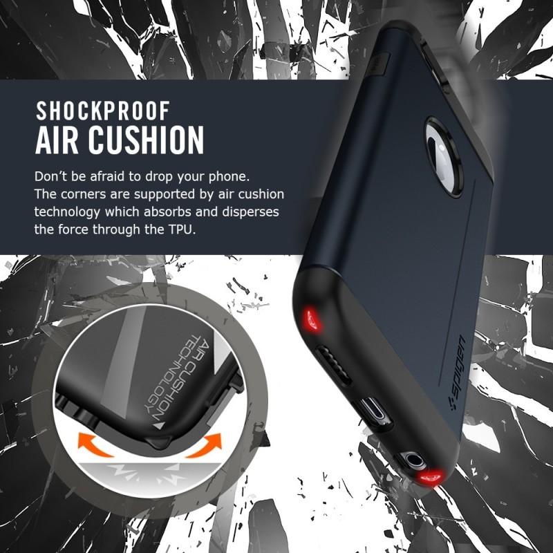 Spigen Slim Armor S iPhone 6(S) Metal Slate