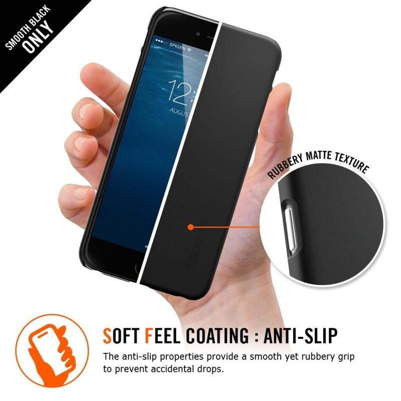 Spigen Thin Fit iPhone 6(S) Plus Smooth Black