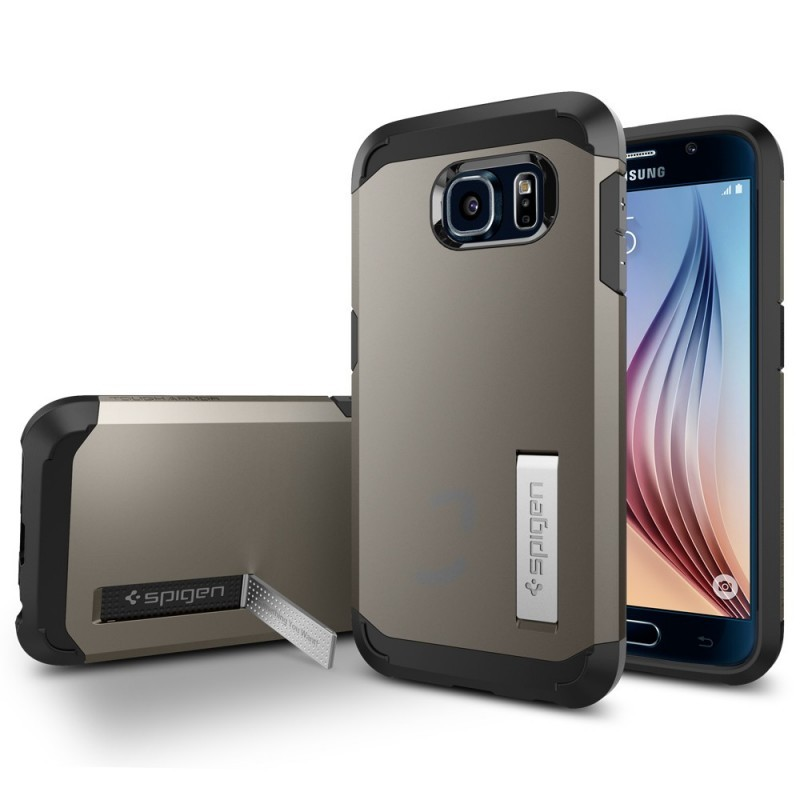 Spigen Tough Armor Galaxy S6 Gunmetal