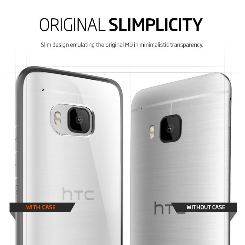 Spigen Ultra Hybrid HTC One M9 Gunmetal